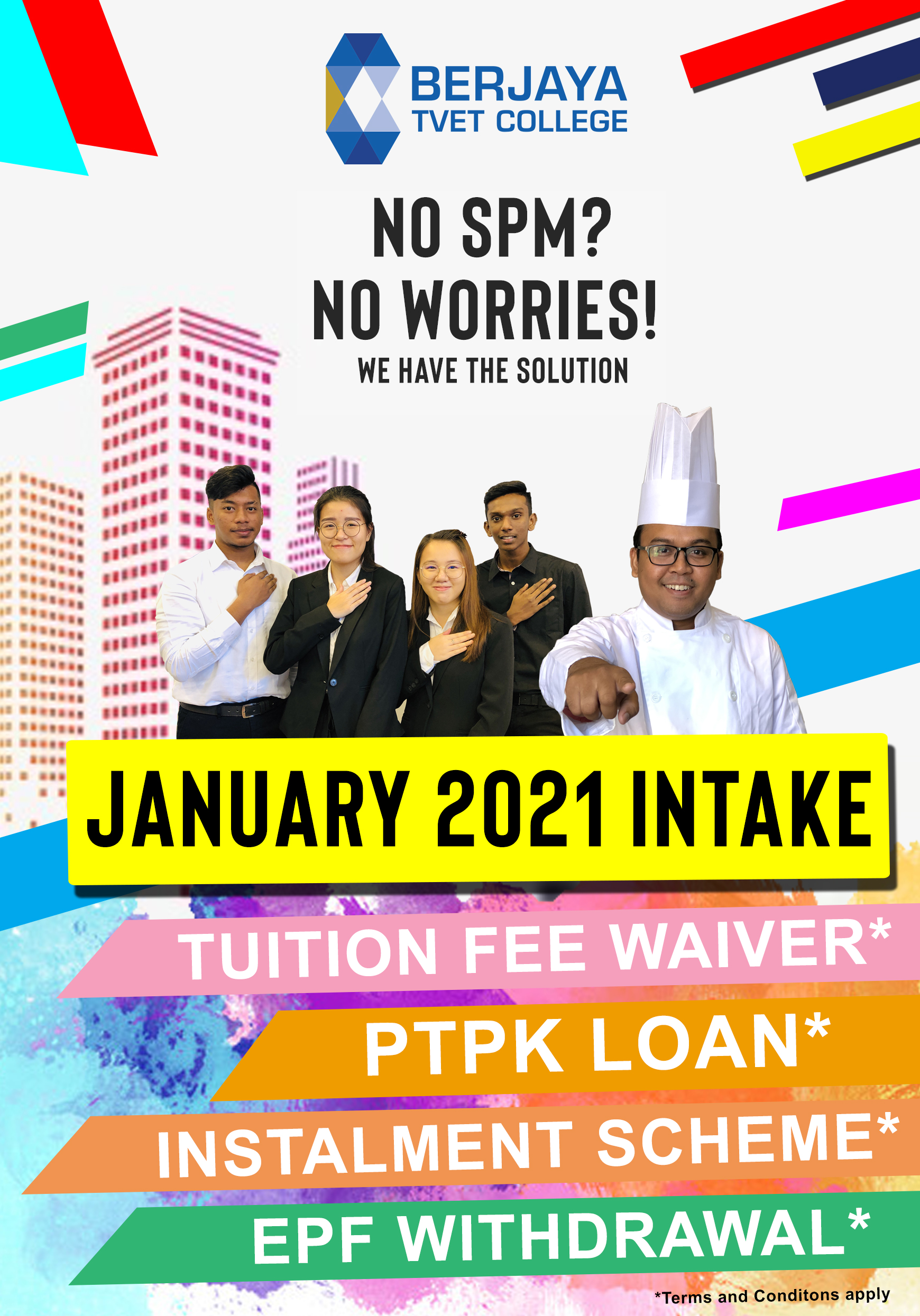 jan intake 2020 no spm